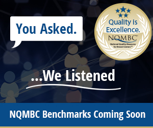You Asked. We Listened. NQMBC Benchmarks Coming Soon